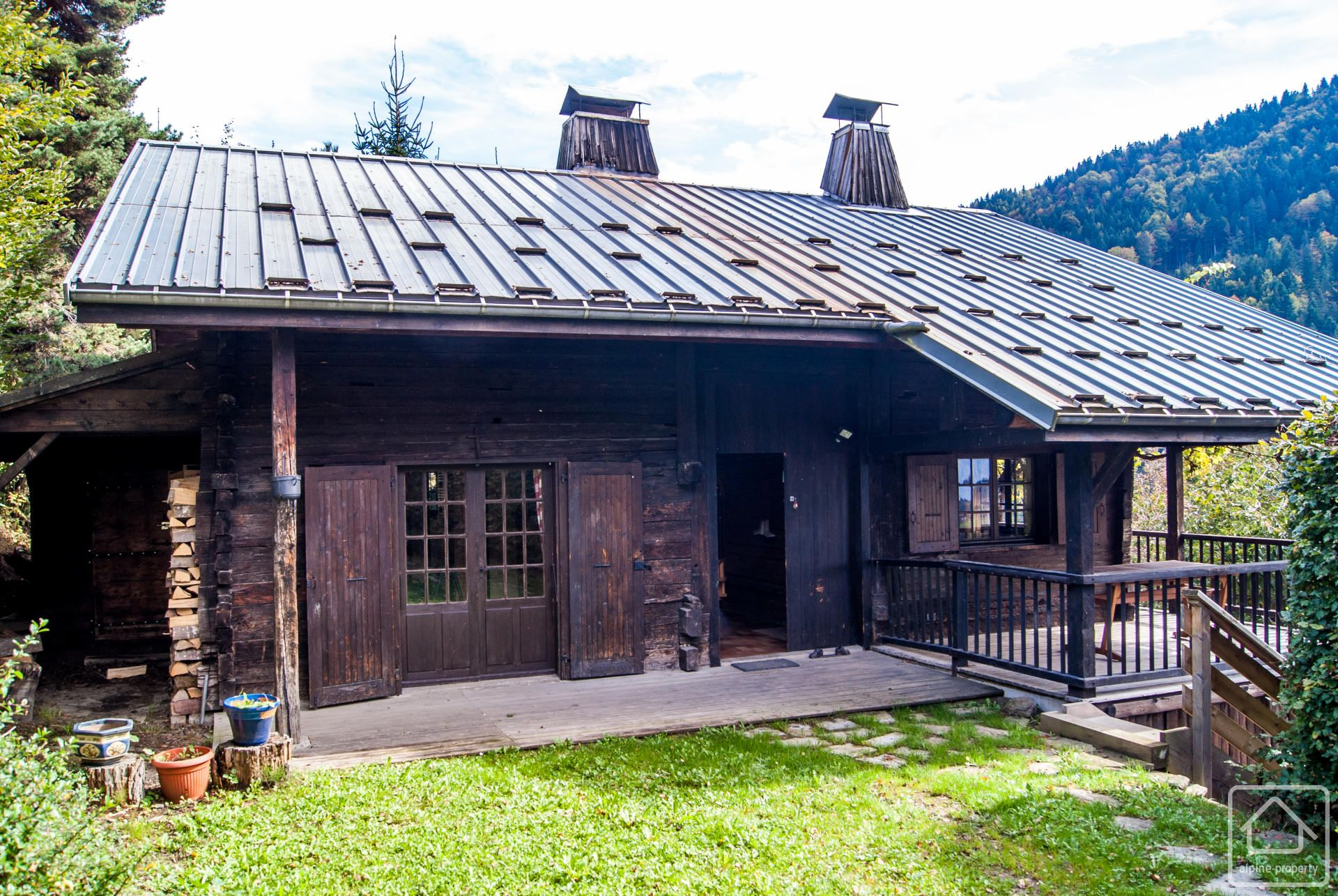 Chalet Gueraudaz Alpine Property Estate Agent In The